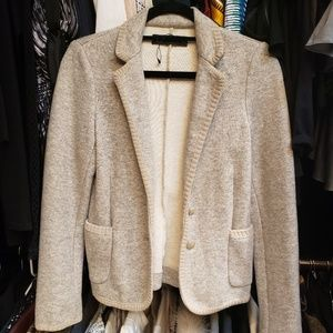 Zara Structured Sweater blazer